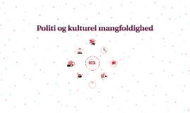 Politi og kulturel mangfoldighed