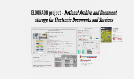 ELDORADO project - Kármán László Monguz