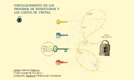 FORTALECIMIENTO  EN  LOS    PROCESOS  DE  INVENTARIOS  Y   L