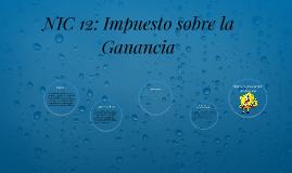 NIC 12: Impuesto sobre la Ganancia