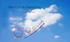 The 6 C's in Character