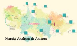 Copy of Marcha Analítica de ANiones