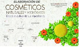 Copy of ELABORACIÓN DE COSMÉTICOS NATURALES Y ECOLÓGICOS