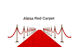 Alexa Red Carpet