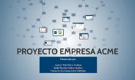 Proyecto ACME