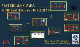 Copy of MATERIALES PARA HERRAMIENTAS DE CORTE