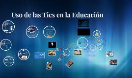 Tics en la Educación