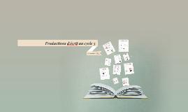 Productions d'écrit au cycle 3