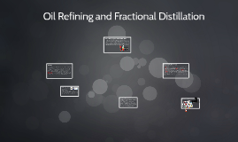 Oil Refining and Fractional Distillation