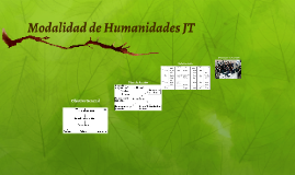Copy of Modalidad de Humanidades