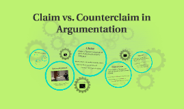 Copy of Claim vs. Counterclaim in Argumentation