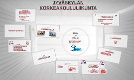 JAMK tutorit kevät18 Jyväskylän Korkeakoululiikunta