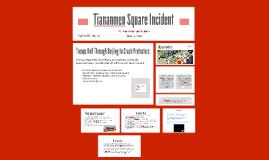 Tiananmen Square Incident