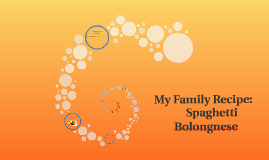 Spaghetti Bolongnese