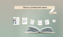 History of robots in the automobile industrie