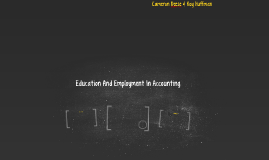 Education And Employment In Accounting
