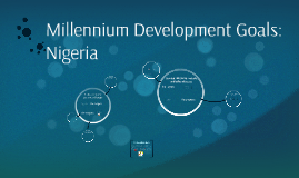 Millennium Development Goals: Nigeria