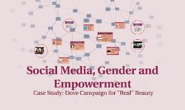 Copy of Gender Representation of Women in Social Media