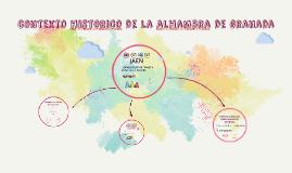 Copy of contexto historico de la alhambra de granada
