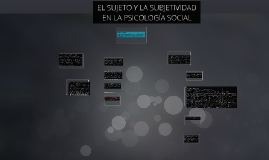 Copy of Copy of Psicología Social