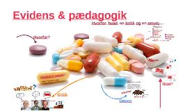 PD viden & forskning Evidens