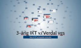 3-årig IKT