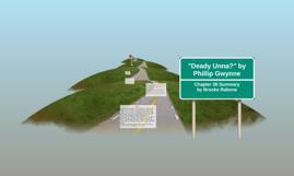"""""""Deady Unna?"""" by Phillip Gwynne"""