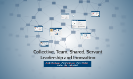 Collective, Team, Shared, Servant Leadership and Innovation