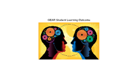 GEAR STUDENT LEARNING OUTCOME