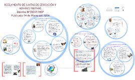REGLAMENTO DE JUNTAS DE EDUCACIÓN Y ADMINISTRATIVAS