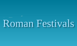 Roman Theatre Festivals