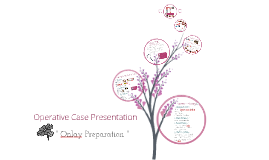 Operative Case Ppt
