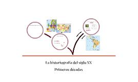 Historiografía Latinoamericana del siglo XX