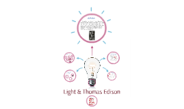 Copy of Light & Thomas Edison