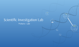 Scientific Investigation Lab
