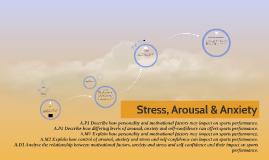 Stress, Arousal & Anxiety