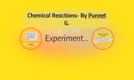 Chemical reactions puneet