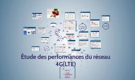 étude des performzances du réseau 4G(L)