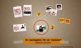 Copy of As vantagens de ser invisível