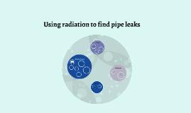 exploring radiation