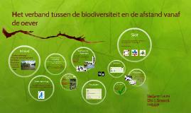 Het verband tussen de biodiversiteit van waterdiertjes en de