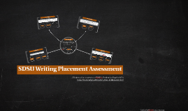 SDSU Writing Placement Assessment