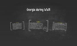 Georgia during WWII