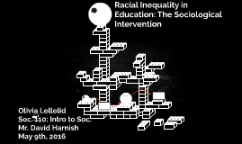 Racial Inequality in Education: The Sociological Interventio