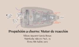 Propulsión a chorro: Motor de Reacción