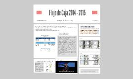 FLUJO DE CAJA 2014 - 2015