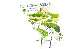 BIBLIOTECA ESCOLAR GIMNASIO EL HONTANAR