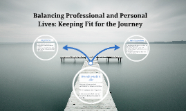 Balancing Professional and Personal Lives: Keeping Fit for t