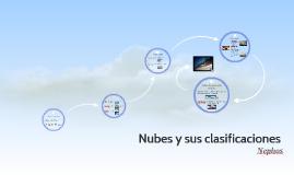 Nubes y sus clasificaciones