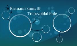 Riemann Sums &